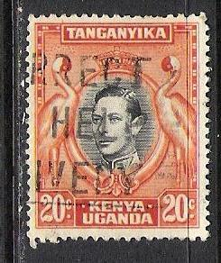 KENYA UGANDA TANGANYIKA 74 VFU 1070D-2