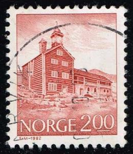 Norway #719 Tofte Estate; Used (0.25)