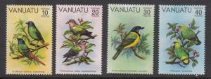 Vanuatu 300-3 Birds mnh