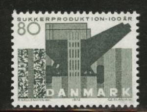 DENMARK  Scott 487 MNH** 1972 Sugar stamp