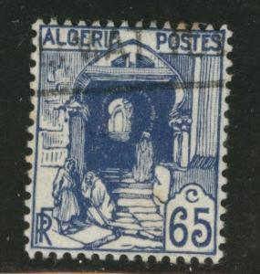 ALGERIA Scott 53 used stamp from 1926-1939 set