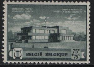 BELGIUM, B273, HINGED, 1940 Queen Elizabeth music chapel