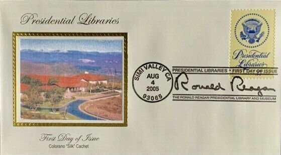 Colorano Silk 3930 Presidential Libraries Ronald Reagan Simi Valley California