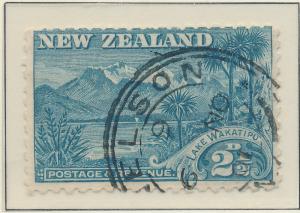 New Zealand Stamp Scott #88, Used - Free U.S. Shipping, Free Worldwide Shippi...