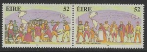 IRELAND SG846a 1992 IRISH IMMIGRANTS MNH