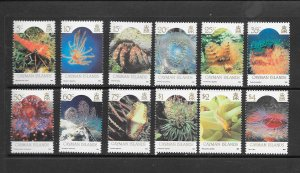 FISH - CAYMAN ISLANDS #562-73  MARINE LIFE  MNH