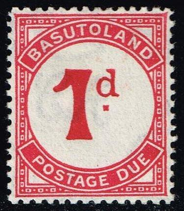 Basutoland #J1 Postage Due; Unused (2.00)