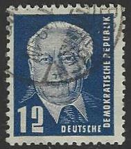 Germany DDR #54 Used Single Stamp (U10)