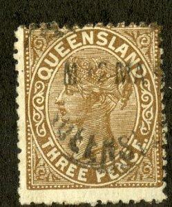 QUEENSLAND 93 USED SCV $4.25 BIN $1.75