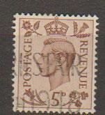 GB George VI  SG 469 Used