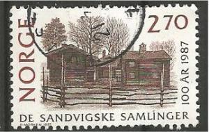 NORWAY, 1987, used 2.70k Bjornstad Farm Scott 911