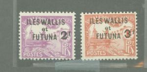 Wallis & Futuna islands  J9-J10 Mint F-VF HR