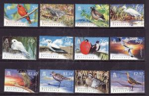 BIOT-Sc#274-85-unused NH set-Birds-2004-please note that 1 of the values-#'s 280