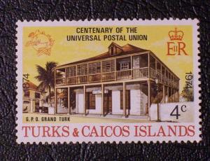 Turks & Caicos Islands Scott #293 unused
