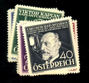 AUSTRIA #B146-151 MINT FVF OG HR Cat $18