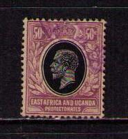 EAST AFRICA UGANDA PROT Sc# 47 USED F King George V KGV