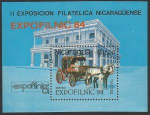 Nicaragua #1047 MNH Resort Souvenir Sheet