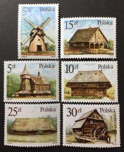 Poland 1986 #2767-72, MNH, CV $2