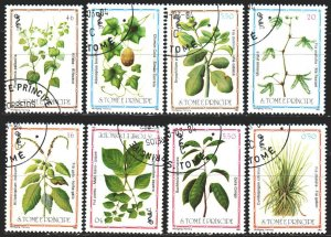 Sao Tome and Principe. 1983. 861-68. Medicinal plants, medicine. USED.