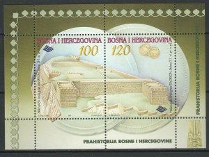 Bosnia and Herzegovina 1997 Architecture MNH Block