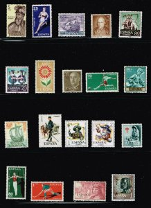 SPAIN STAMP SPAIN MINT STAMP COLLECTION LOT
