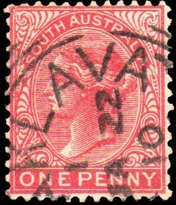South Australia Scott 115 Used.