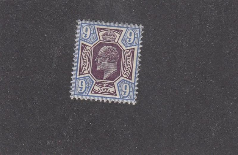 GB # 307 VF-MH KEV11 9d CAT VALUE $200++