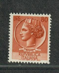 Italy Sc#633 M/NH/VF, Key Value, Cv. $70