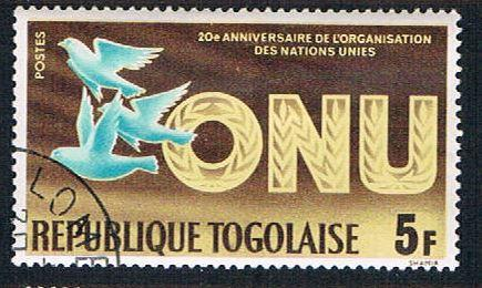Togo 545 Used United Nations (BP12410)