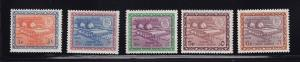 Saudi Arabia Scott # 474 - 478 VF-OG mint never hinged scv $ 169 ! see pic !