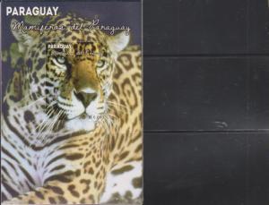 O) 2013 PARAGUAY, MAMMALS - JAGUAR - YAGUARETE PANTHER, SOUVENIR MNH