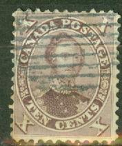 Canada 17b used CV $140
