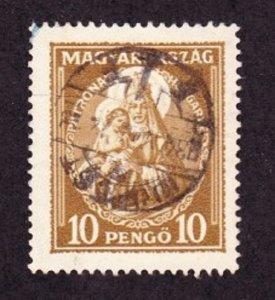 Hungary #465 Madonna and Child Used Single