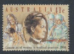 SG 1232  SC# 1165  Used  Centenary of Women in Medicine