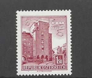 Austria, 623, Rabenhof Bldg Erdberg Vienna Single, LH