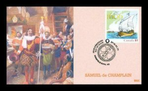 BGC 4073 Samuel de Champlain Canada Stamp Only