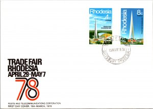 Rhodesia, Worldwide First Day Cover