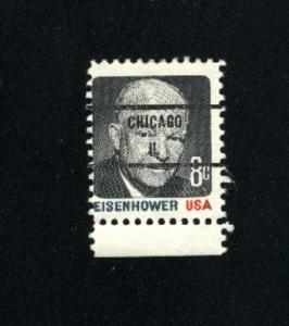 USA #1394 3 used 1970-74 PD .08
