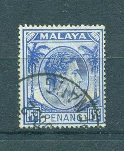Malaya - Penang sc# 13 (2) used cat value $.50