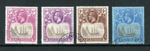 Ascension 1924-33 6d to 2s FU CDS