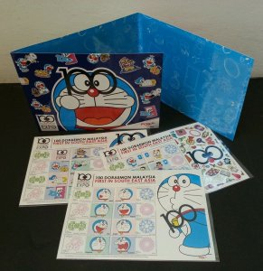 100 Doraemon Malaysia Japan Comic Animation 2013 (folder set) MNH *official