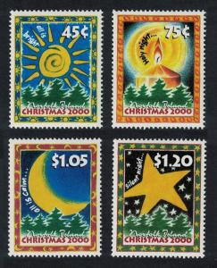 Norfolk Christmas 4v issue 2000 SG#739-742 SC#711-714