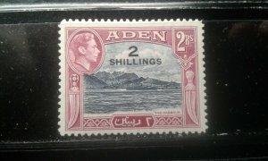 Aden #44 mint hinged e196.4498