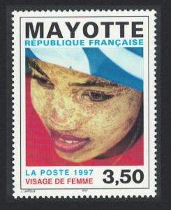 Mayotte Woman's Face SG#72
