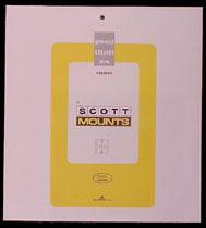 Scott Mounts Clear, 178/181 mm (pkg 5)  (01001C)