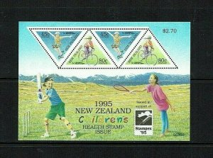 New Zealand: 1995  Stampex National Stamp Exhibition, Wellington, M/S MNH