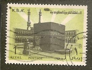 Saudi Arabia        Scott 710     Ka'aba     Used