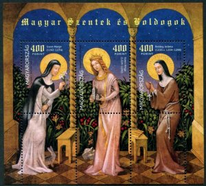 HERRICKSTAMP NEW ISSUES HUNGARY Saints & Blesseds V S/S