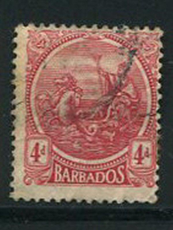 Barbados #163 Used