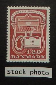 Denmark 626. 1979 Telephone Centenary, NH